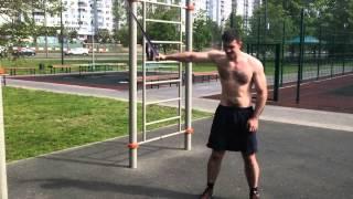 Влас Фролов: летняя тренировка с петлями R4P