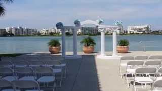 Wedding Arch , Columns For Ceremony In Tampa, Fl