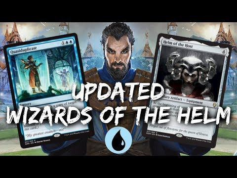 Mono-Blue Quasi-Helm [MTG Arena] | Wizards of the Helm Deck Updated in GRN Standard