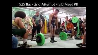 1315 at 180 lbs Meet 11/21