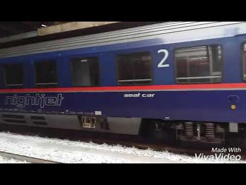 Partenza dell'Evo+strombazzata a Roma Termini affianco al nightjet fermo+arrivo dell'Evo!!!!!!!!!!!!