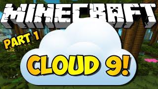 Minecraft: Cloud 9 w/ iHasCupquake & Red - Part 1 (HD)