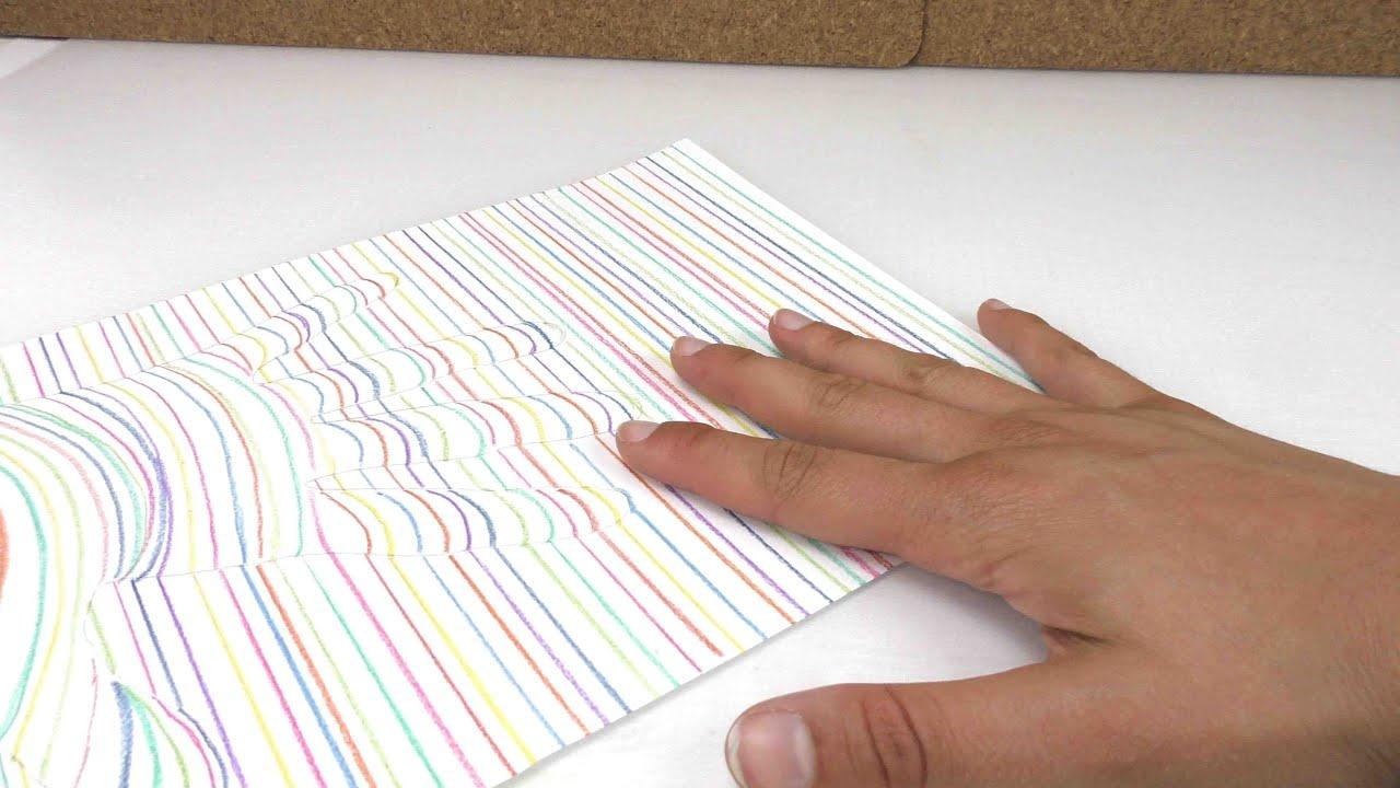 Captivating 3D Hand Zeichnen / Ganz Einfach Malen / Geschenk Für Eure Eltern / DIY Kids  Club   YouTube