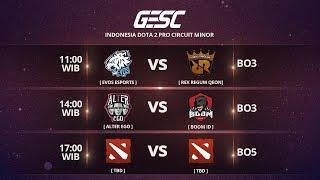 RRQ vs ALTER EGO (BO5) @GESC Indonesia Dota 2 Minor, FINAL DAY