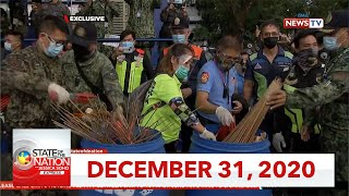 State of the Nation with Jessica Soho Express: December 31, 2020 [HD]