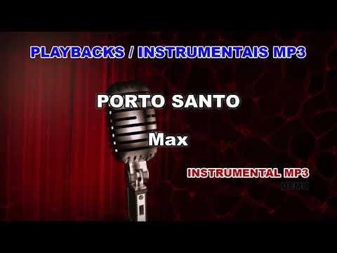 ♬-playback-/-instrumental-mp3---porto-santo---max