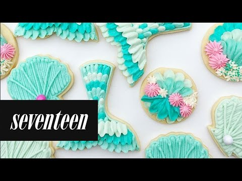 These Mermaid Inspired Cookies Are Magical