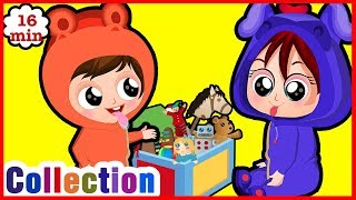 Learn How To Play Together, Enjoy Cooking And More Videos From Poo Poo Kids.