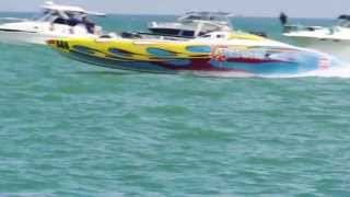 Trinidad & Tobago Powerboats Association (TTPBA) Regatta #4 2013 @ TTYC