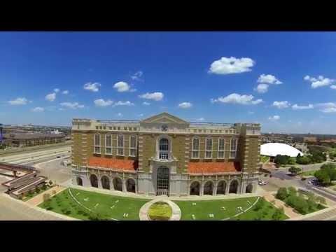 Aerial Video ~ Texas Tech Jones Stadium