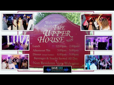 Featured Event @ The Upper House Barlaston