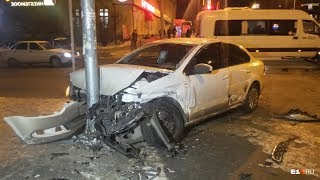 Russian Car Crash. Crash Post Breakers #01