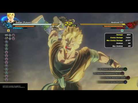 DRAGON BALL XENOVERSE 2 One Hand KaMeHaMeHa combo