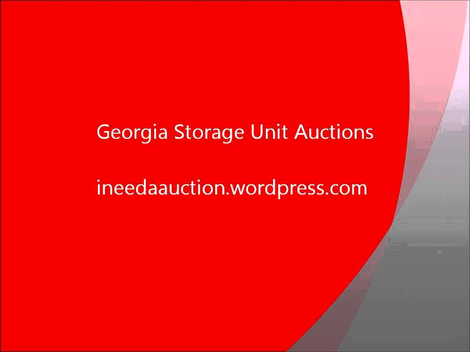 Georgia Storage Unit Auction List July 28  sc 1 st  YouTube & Georgia Storage Unit Auction List July 28 - YouTube