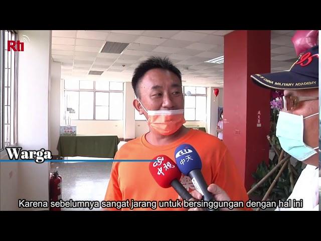 Kembang Api HUT ROC ke 109 di Kota Tainan   RTI Siaran Indonesia