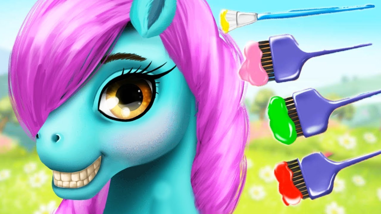 Fun Pony Care Kids Games Pony Girls Horse Care Resort 2