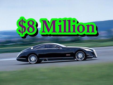 $8 Million – Mercedes benz Maybach Exelero