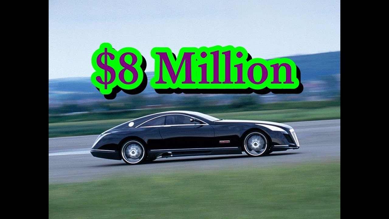 $8 million – mercedes benz maybach exelero - youtube
