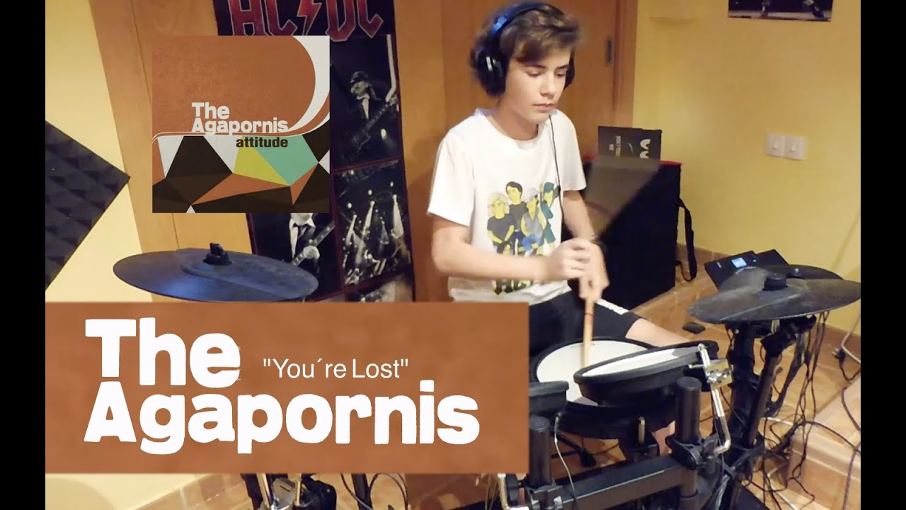 You're Lost, The Agapornis, drum cover