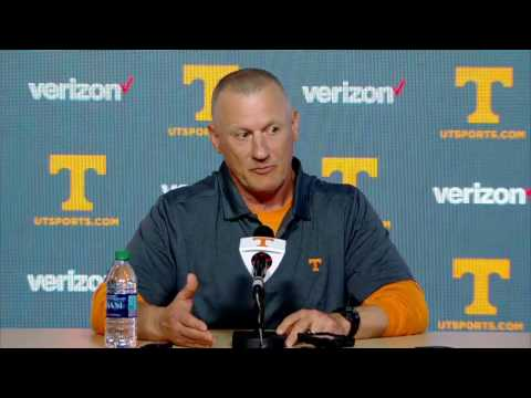 Tennessee Football | Rock Gullickson Introductory Press Conference - 1/10/17