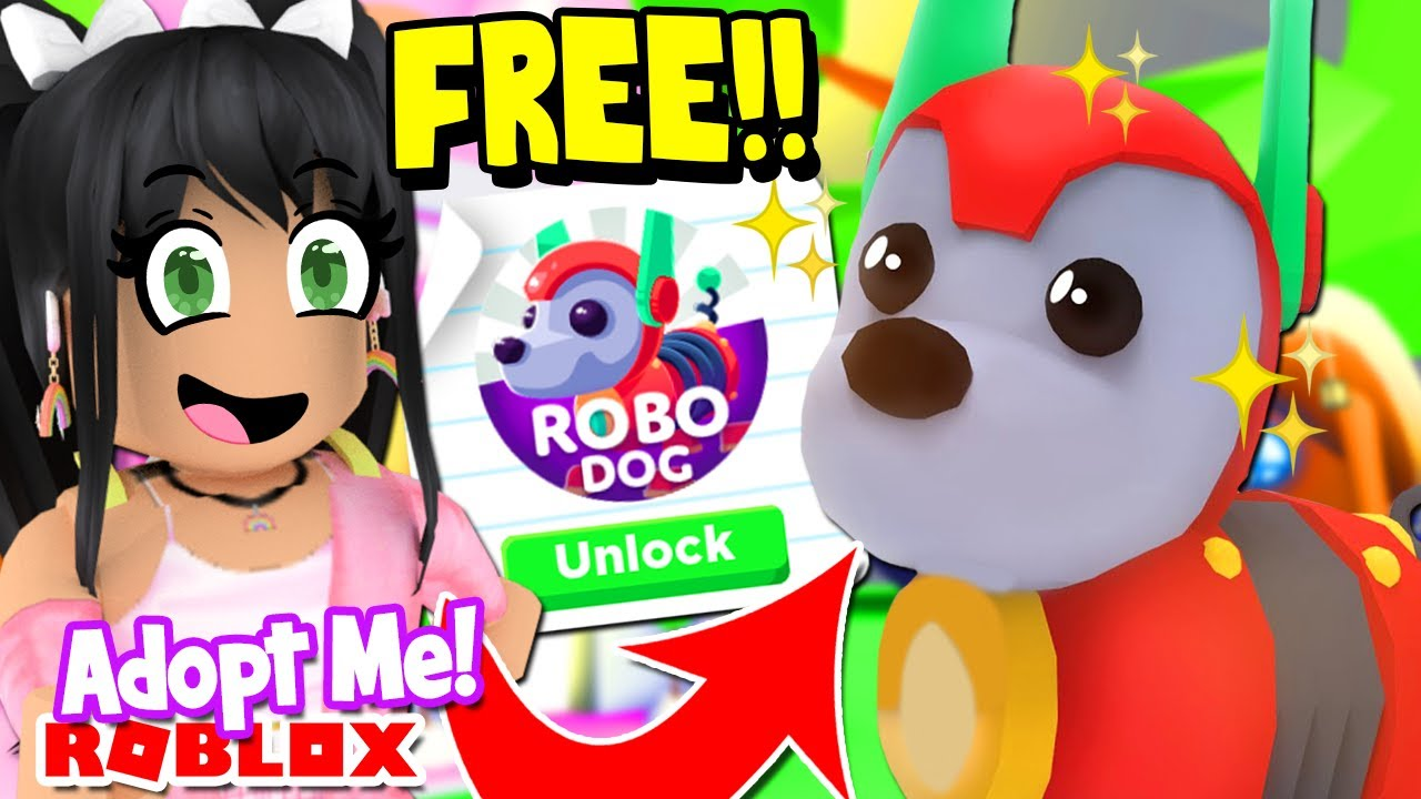 How To Get a *FREE ROBO DOG PET* in ADOPT ME ROBLOX UPDATE YouTube