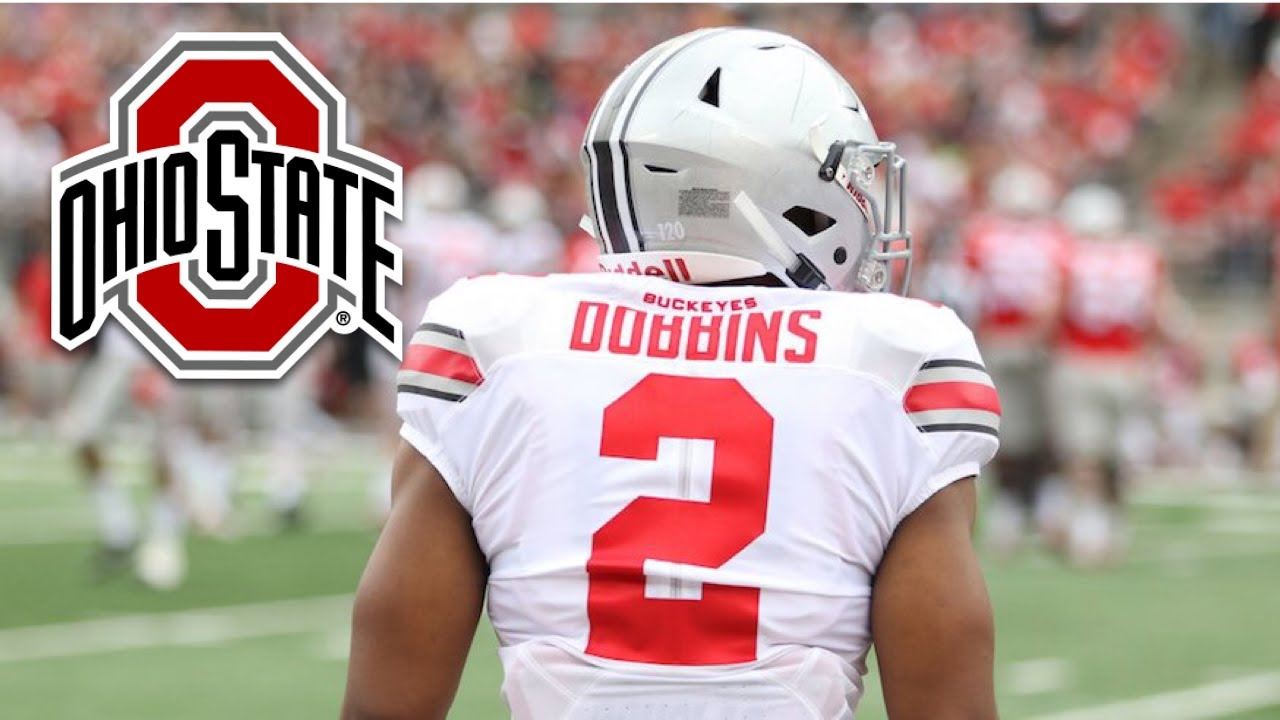 reputable site 1557a 47466 Ohio State RB J.K. Dobbins Official 2017-18 Highlights