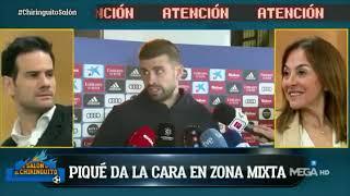 💥 PIQUÉ habla tras la DERROTA ante el MADRID