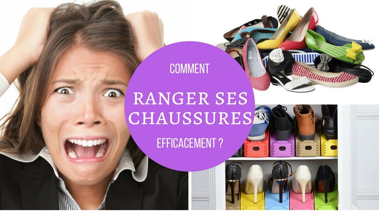 comment ranger ses chaussures efficacement youtube. Black Bedroom Furniture Sets. Home Design Ideas