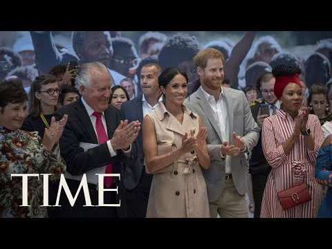 Prince Harry And Meghan Markle Visit A Nelson Mandela Exhibit In London | TIME