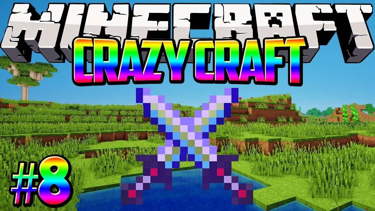 """""""The Ultimate Sword!"""" Crazy Craft Minecraft Modded ..."""