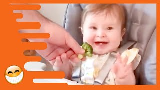 Funniest Daddy Takes Care Of Baby   Cute Baby Video