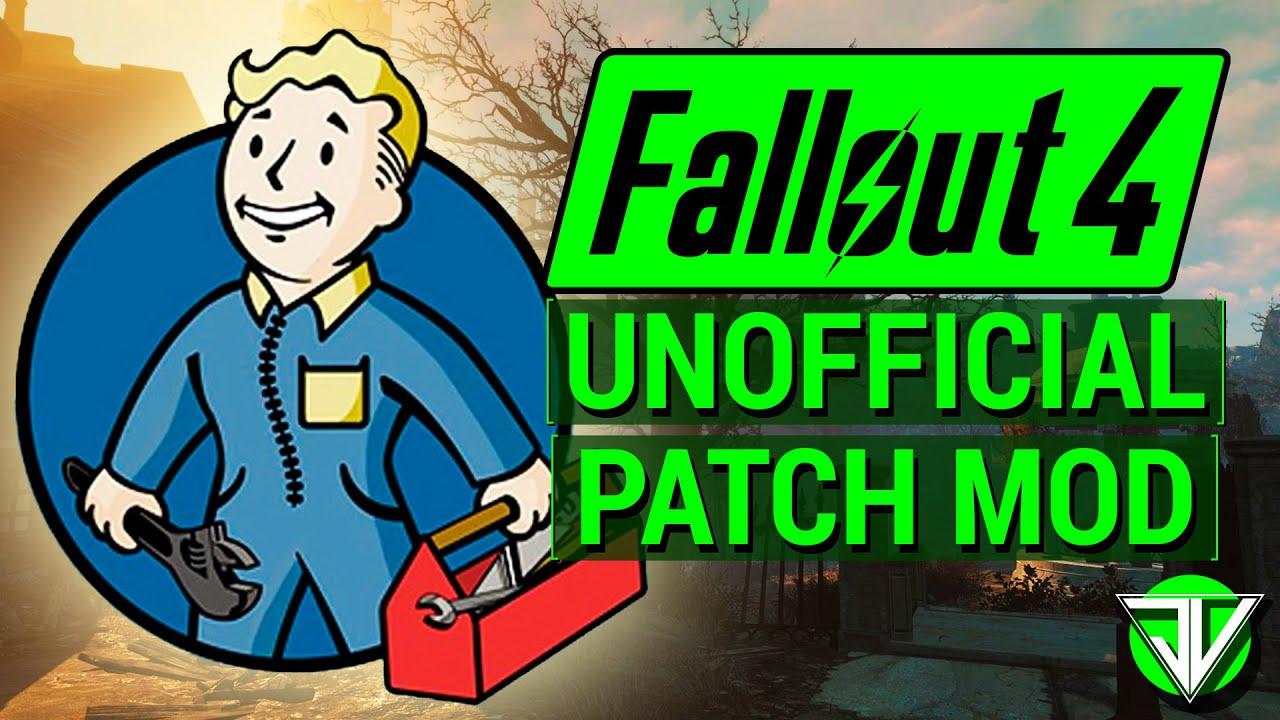 Unofficial Fallout 4 Patch   Неофициальный патч для Fallout 4 (UFO4P)