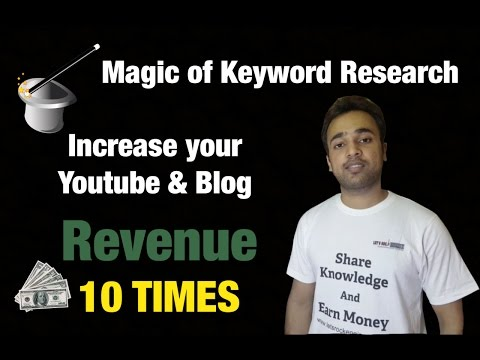 Magic of Keyword research in SEO - Google keyword Planner - Search Engine Optimization Strategies