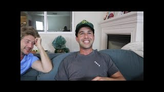 Josh Peck segments from David Dobrik's Vlog BIRTHDAY SURPRISE MADE HER CRY!!