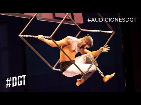 José Luis, un ejemplo de que los límites físicos no existen | Dominicana's Got Talent