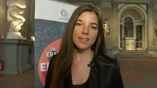 """L'intervento di giulia innocenzi, giornalista, blogger e testimonial erasmus alla conferenza """"erasmus+ il futuro dell'europa"""", 9 maggio in palazzo vecch..."""
