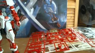 DABAN Gundam Red Frame Astray Master Grade Model Kit Overview