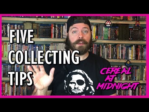 Five Tips for Collecting Physical Media (Blu-ray, DVD, Movie