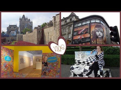 VLOG: Spontaneous 3 Days in London! (September 2014)   Amy McLean