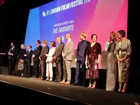 Cast Introducing The Favourite UK Premiere at London BFI Sou