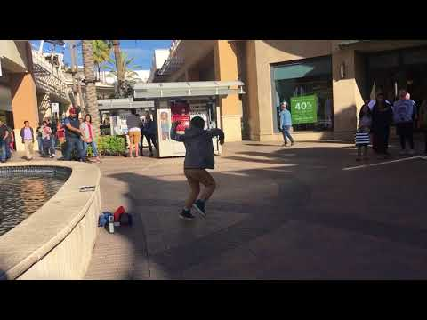 Impromptu Dance Party at Fashion Valley Mall
