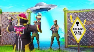 BREAKING Into AREA 51 In Fortnite! *Secret* Fortnite Short Film Movie