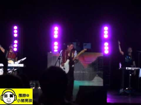far east movement at Shanghai Grand Stage 08.13.2012.