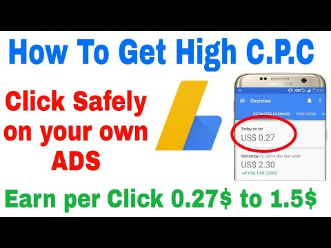 How to Get High CPC ads  Easy & Safe way to increase Your