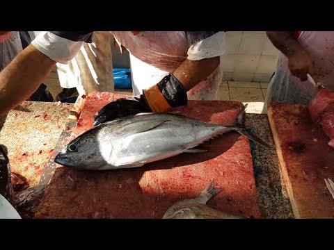 Golden Tilapia & Tuna Fish Fillet। 7.5 KG $ 100 Fish Fillet By Knife।Super Fast Way Of Fish Fillet