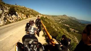 Adriatica Tour Dzień 8: Montenegro-Bośnia-Chorwacja. Music: Two Steps From Hell- Jump!