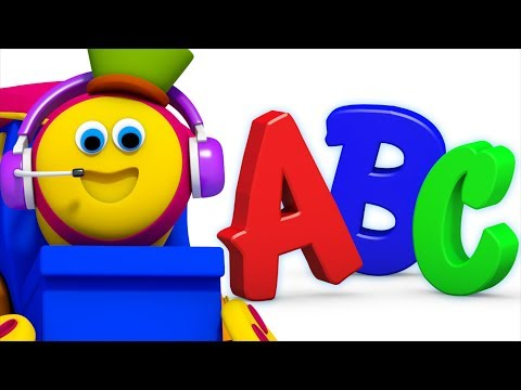 ABC Song Learn Alphabets Learn English Songs For children Learning Street  Bob the train