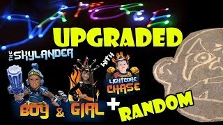 Skylander Boy & Girl Get Upgraded + Sphero Light Writing & Kaos @ Our House... Forever!