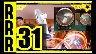 31 FANS !!! Fall asleep to FAN HEAVEN  ~ White Noise Sleep