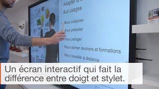 Comment distinguer le doigt et le stylet sur écran tactile ?